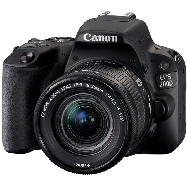 CANON Appareil photo reflex 200D 18-55