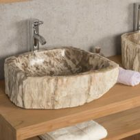 double vasque pierre - Double Vasque En Pierre