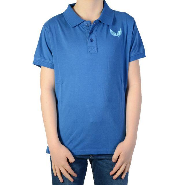 d0fb4566485b5 Kaporal 5 - Polo Kaporal Enfant Dersa Cobalt Bleu - pas cher Achat   Vente Polo  enfant - RueDuCommerce