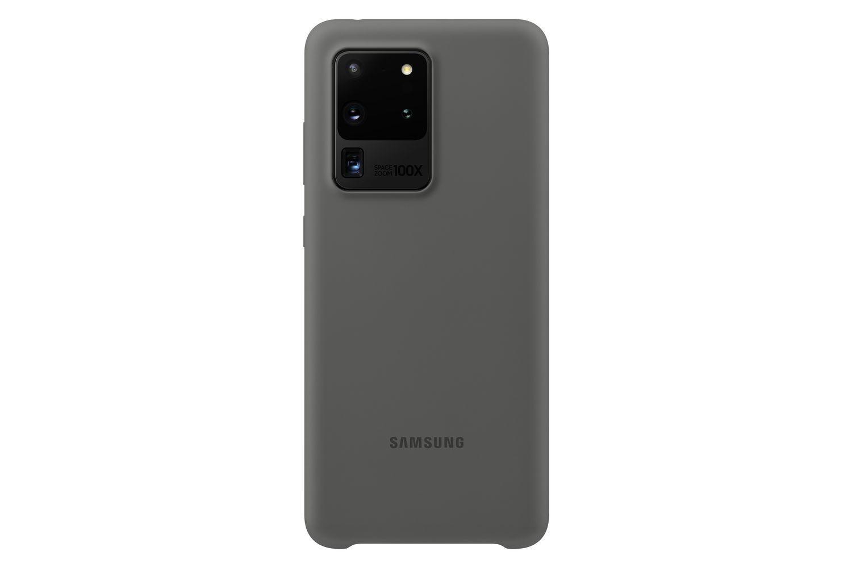 Coque Silicone pour Galaxy S20 ULTRA Gris