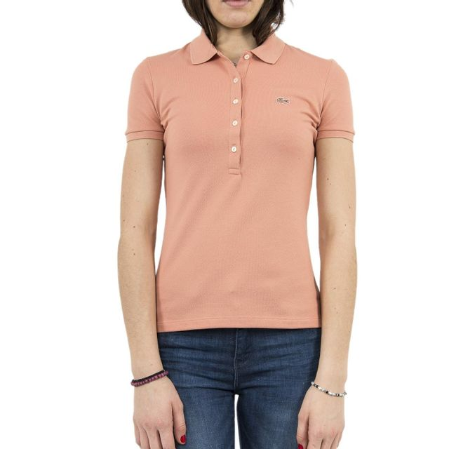 3f8d13f0c0 Lacoste - Polos pf7845 rose - pas cher Achat / Vente Polo femme -  RueDuCommerce