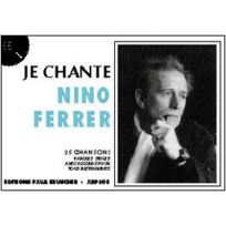Paul Beuscher Publications - Partitions Variété, Pop, Rock. Ferrer Nino - Je Chante Ferrer Paroles&accords