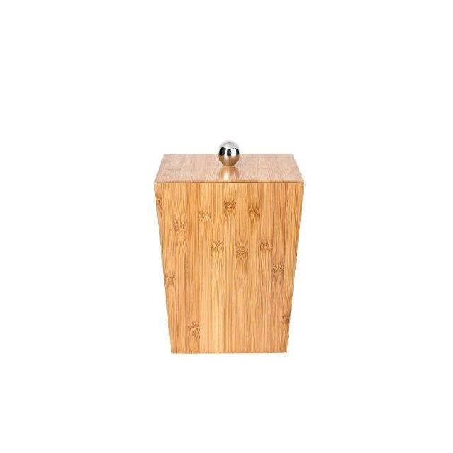 Poubelle Salle De Bain Bambou Avec Couvercle : Ridder poubelle de salle bain avec couvercle bambou