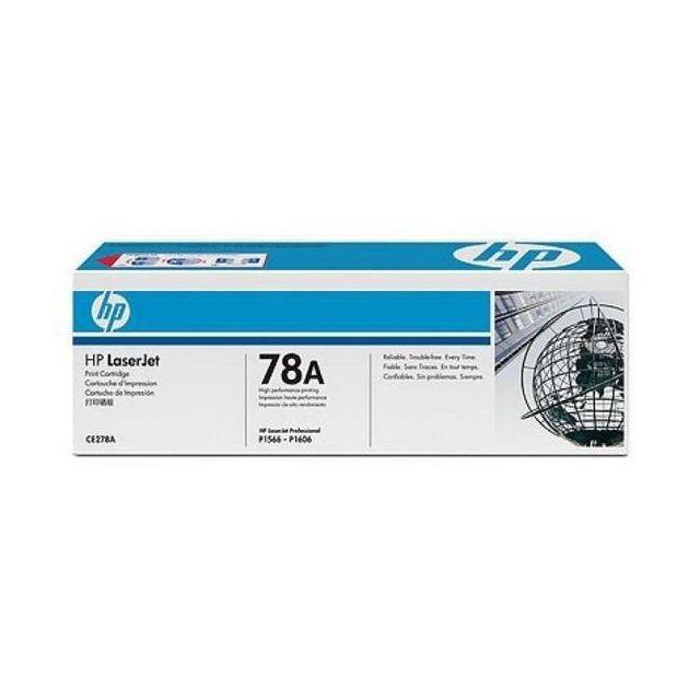 Totalcadeau Toner Laserjet Pro P1566/P1606 noir pour imprimante Hp Ce278A