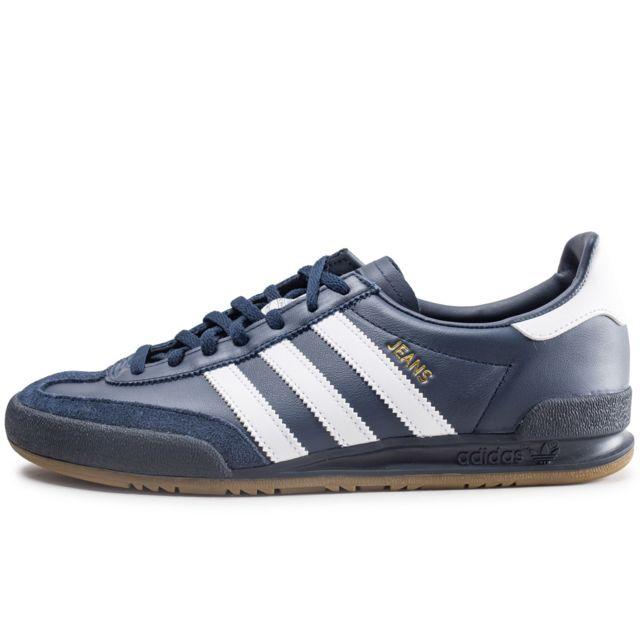 à bas prix b6e2c 40b27 Jeans Bleu Marine Et Blanc