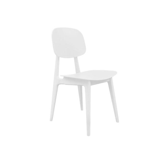Leitmotiv Chaise Vintage - Blanc