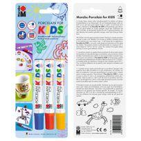 Marabu - Set de Feutres Porcelain For Kids - 3x1-3mm