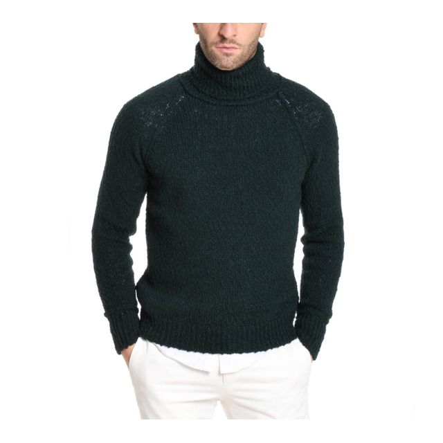 Messagerie Homme 001138T092555214 Vert Laine Maille