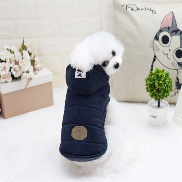 De Animal Bleu Wewoo Compagnie Pour Marine Vêtements Chiens UxIXw5Xq