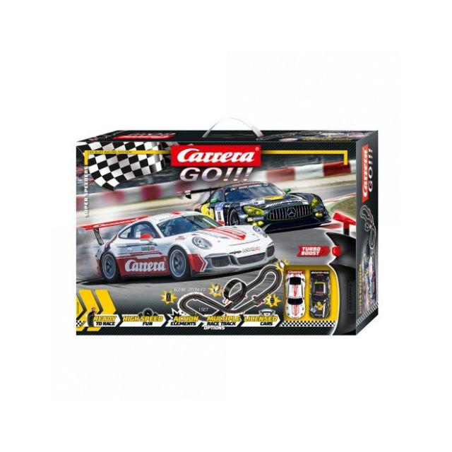 Carrera Circuit voiture 6 - 12 ans Go!!! 62488 Coffret Super Speeders 1/43