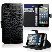 lapinette etui portefeuille crocodile pour apple iphone. Black Bedroom Furniture Sets. Home Design Ideas