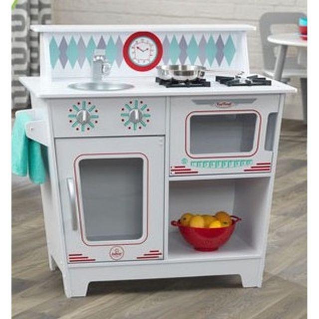 Kidkraft Petite Cuisine Classique Enfant Blanche Pas Cher Achat