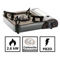 Kemper - Réchaud gaz camping portable allumage piezo