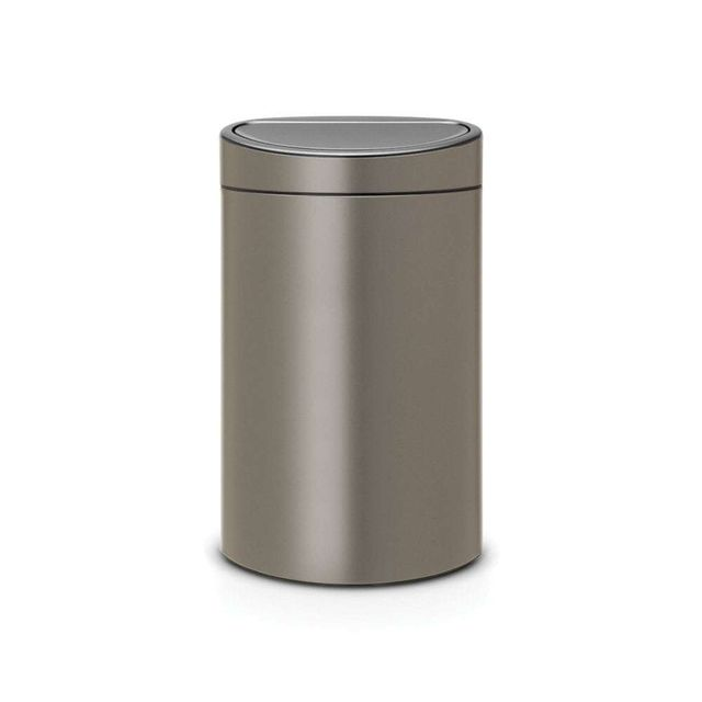 BRABANTIA Touch Bin New, 40L - Platinum