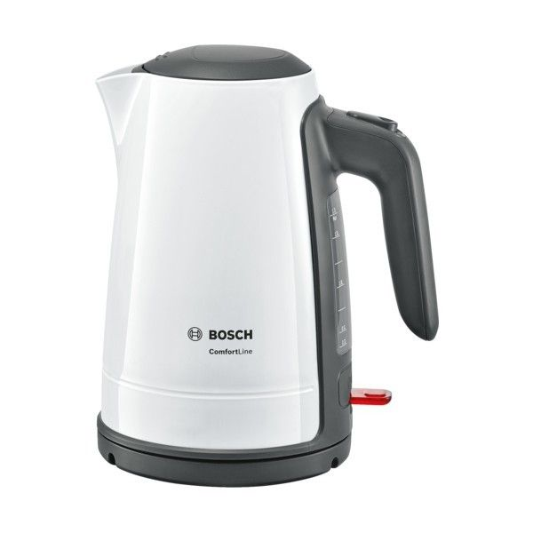 Bosch Bouilloire 1,7l - 2400W Blanc-Gris TWK6A011