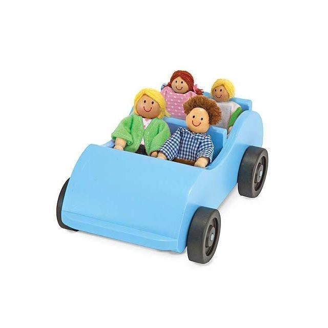 Melissa & Doug Ensemble voiture et poupées