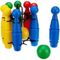 Simba Toys - Partner - Partner - 5044 - 9 Quilles de Bowling 25 cm 2 balles