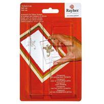 Rayher - Set De Blocs Acryliques Pour Tampons Transparents