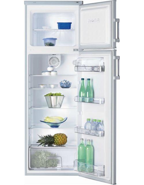 Brandt Réfrigérateur 2 Portes BFD2254BS BFD 2254 BS, Silver