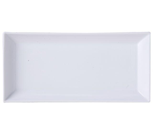Lebrun Assiette rectangle 28 cm Carre Hotel