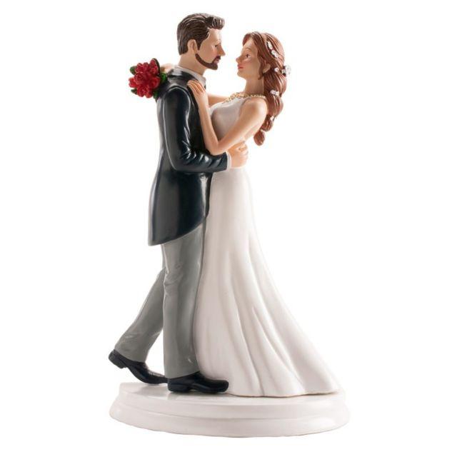 Figurine Couple De Maries Dansant La Valse Decoration Gateau Mariage 832