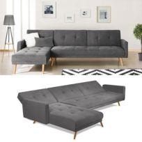 canape convertible sans accoudoir achat canape convertible sans accoudoir pas cher rue du. Black Bedroom Furniture Sets. Home Design Ideas