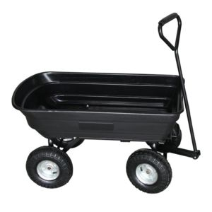 turfmaster chariot 4 roues basculant 75 litres 250. Black Bedroom Furniture Sets. Home Design Ideas