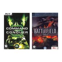 Mindscape - Pack 2 jeux Command & Conquer 3 et Battlefield 1942 - Pc