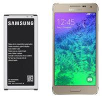 Samsung - Batterie d'origine Eb-bg850BBE Pour Galaxy Alpha G850