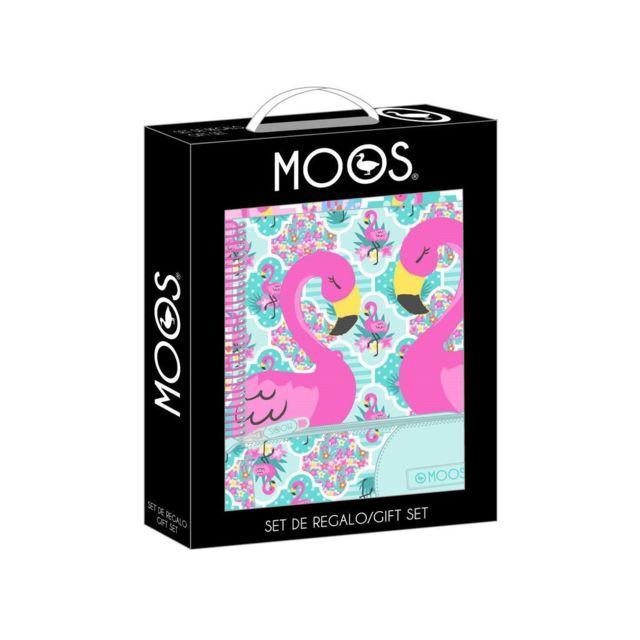 SAFTA - Ensemble cadeau Moos Flamingo Turquoise