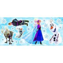 Crearreda - Stickers multi éléments La Reine des Neiges Disney Frozen