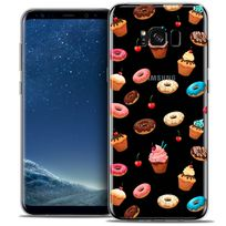 Caseink - Coque Housse Etui Samsung Galaxy S8 G950, Crystal Gel Hd Collection Foodie Design Donuts - Souple - Ultra Fin - Imprimé en France