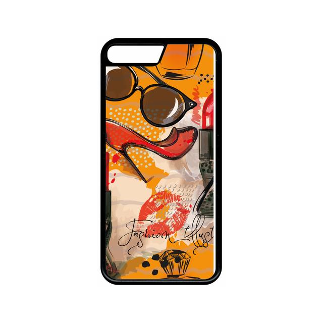 coque iphone 8 apple orange