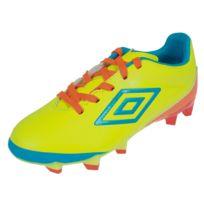 Umbro - Chaussures football lamelles Velocita club jr lamelle Jaune 49703