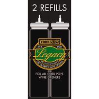 Oenopro - Lot de 2 recharges de gaz pour tire-bouchon à gaz Pop Luxe Aci-oen300 Aci-oen300R