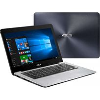Asus - X302UA Fn177T - Ordinateur portable 13.3' - Core i5 6200U 2,3 Ghz - 4 Go Ram - 1 To Hdd - Noir