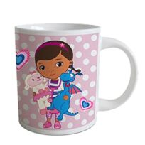 Docteur La Peluche - Petite tasse rose
