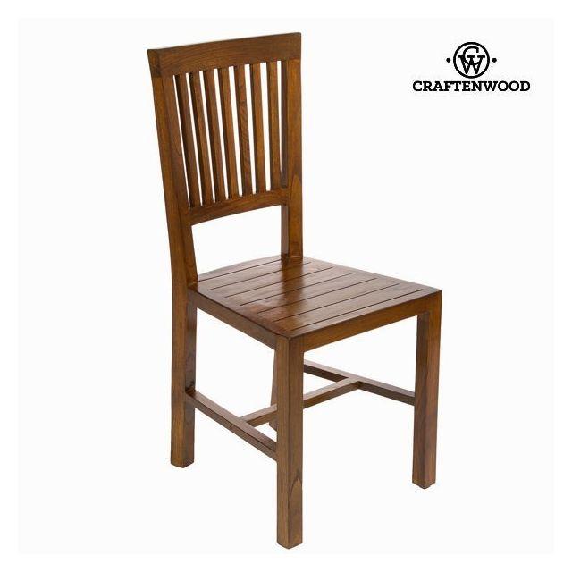 bois salle bois en Chaise table en Chaise manger de à pour d'acacia hrxdCBstQ