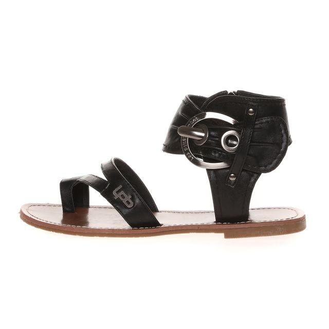 Lpb Shoes-les Petites Bombes - Sandale Pensee Noir - pas cher Achat ... 1e503a977c00