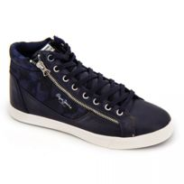 Basket montante pms50503 navy Homme
