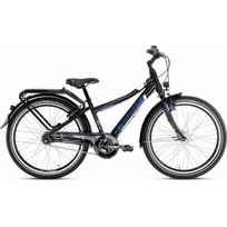 Puky - Vélo Enfant - Crusader 24-7 - Vélo enfant - Alu City light bleu/noir