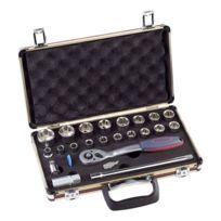Kwb - Coffret clés à douilles carré 1/2 23 pièces