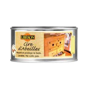 liberon cire d 39 abeille en p te 500 ml incolore pas cher achat vente entretien mobilier. Black Bedroom Furniture Sets. Home Design Ideas