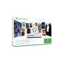 MICROSOFT - Pack Xbox One S 500Go 3M Game Pass + 3M LIVE