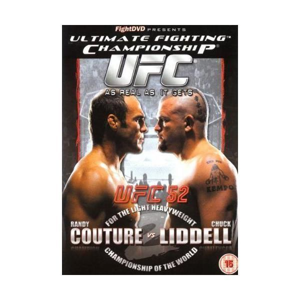 Fight Dvd - Ultimate Fighting Championship - 52: Couture Vs Liddell Import anglais