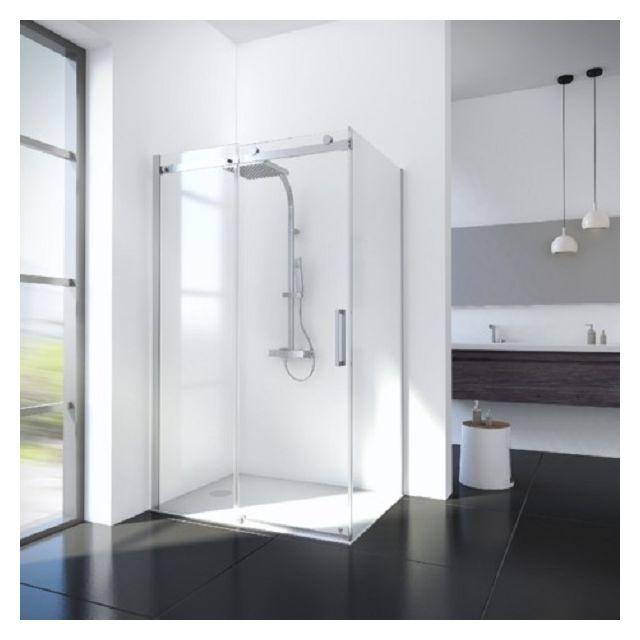 Schulte portes de douche coulissantes 80 x 120 cm avec - Portes de douche coulissantes ...