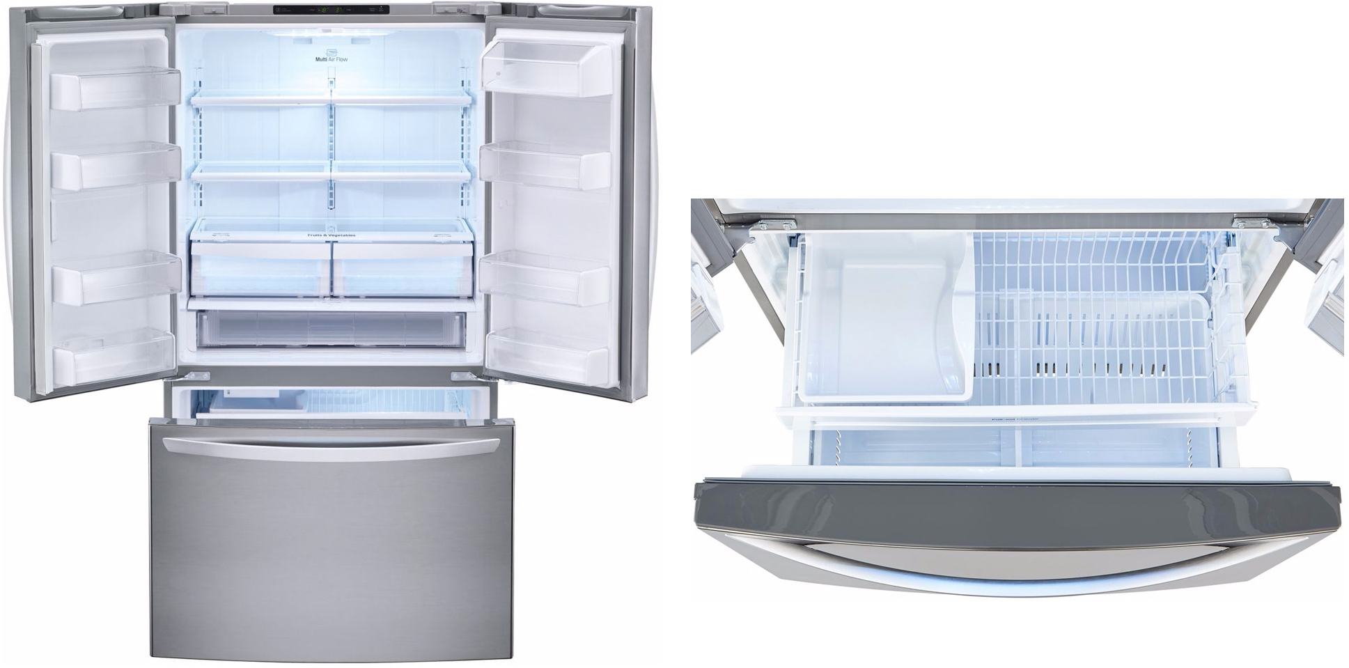 Réfrigérateur américain 3 portes GLC8021PS