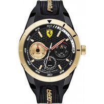 Ferrari Montres - Montre 0830380 - Montre Silicone Noir Dateur Homme