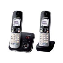 PANASONIC - Téléphone répondeur sans fil duo TG6822