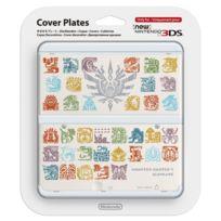 Nintendo - Coque Monster Hunter 4 Blanche New 3DS